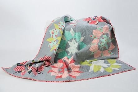 Mein Quilt ist fertig: SWOON von Thimble Blossoms
