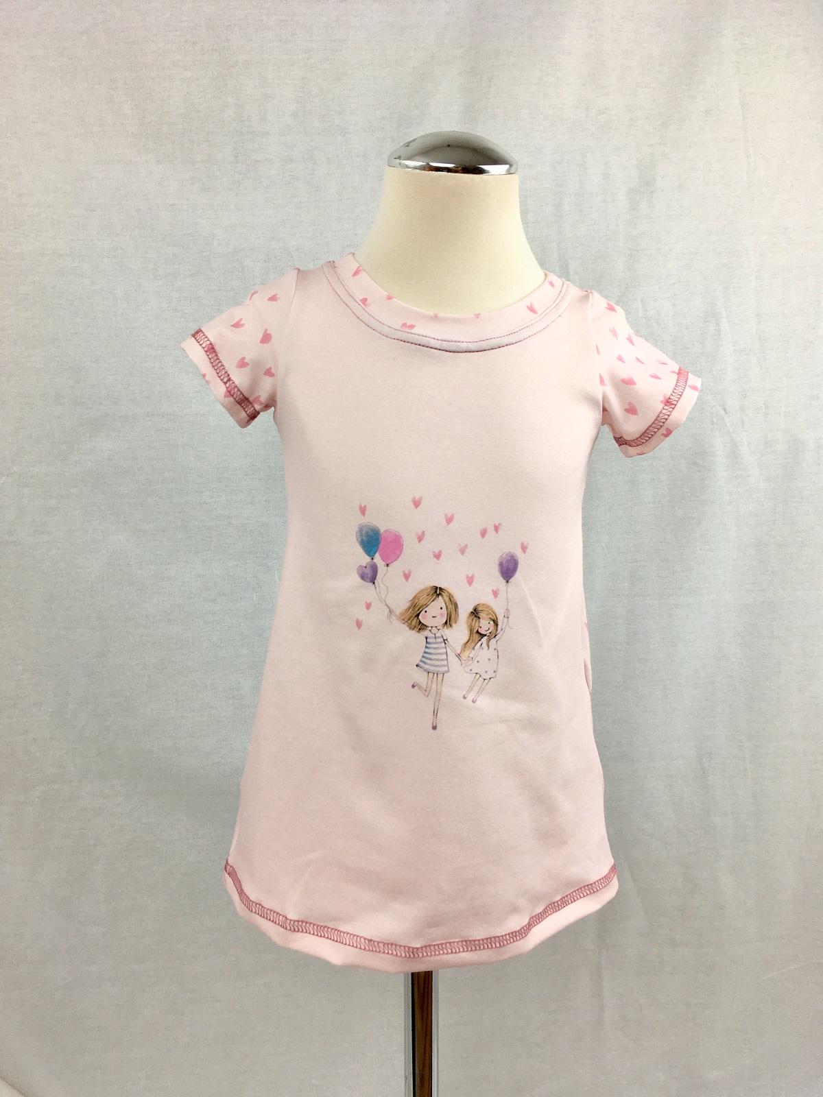 Ein süßes Tunika-Kleid für Mädchen