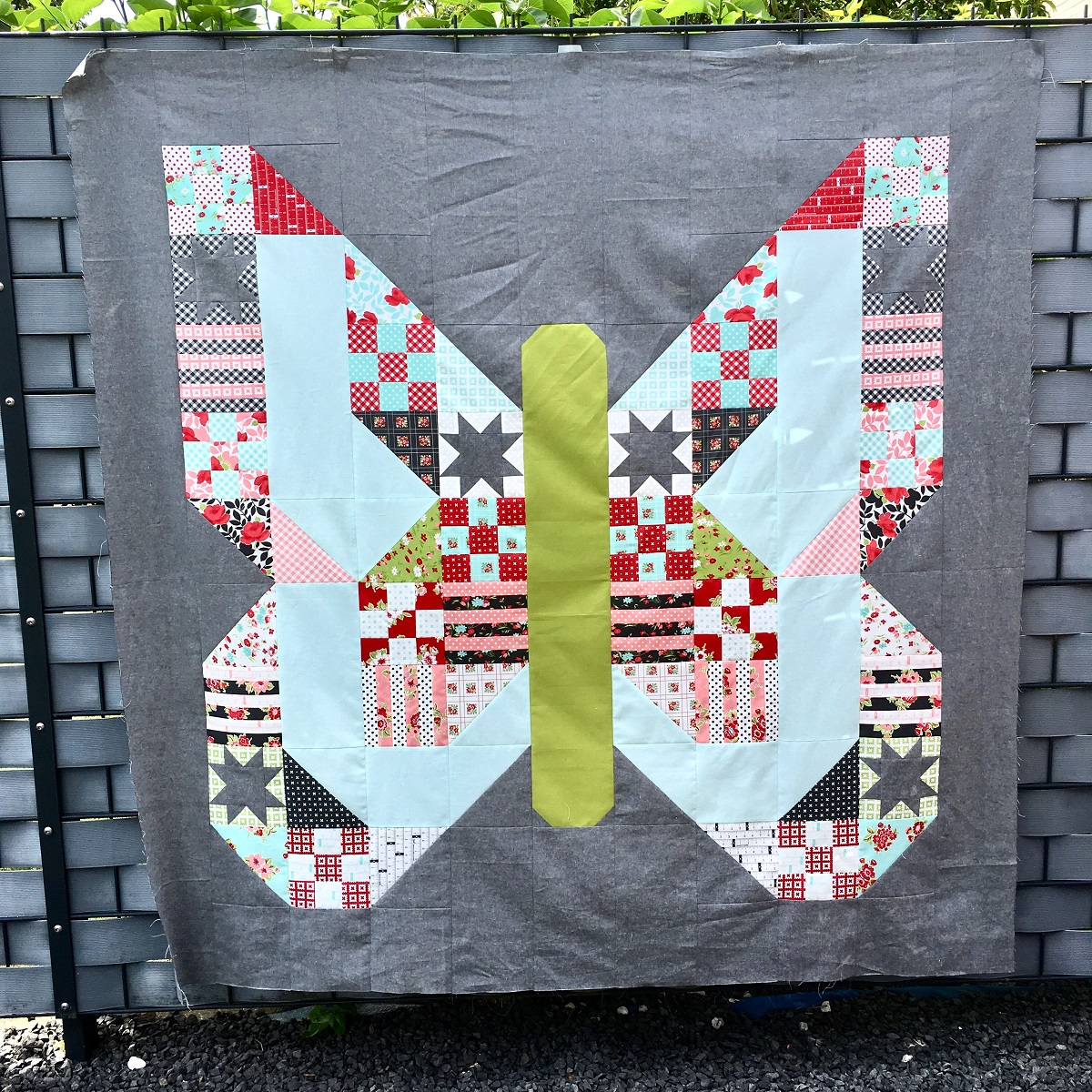 Der Butterfly Patch Quilt Along von Lella Boutique