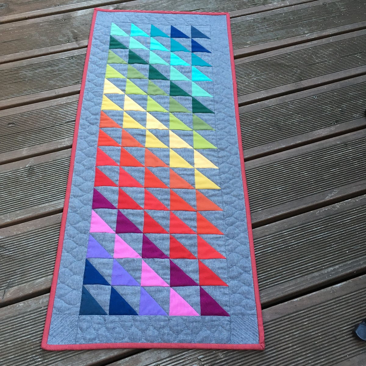 Half Square Triangle Mini Quilt SWAP