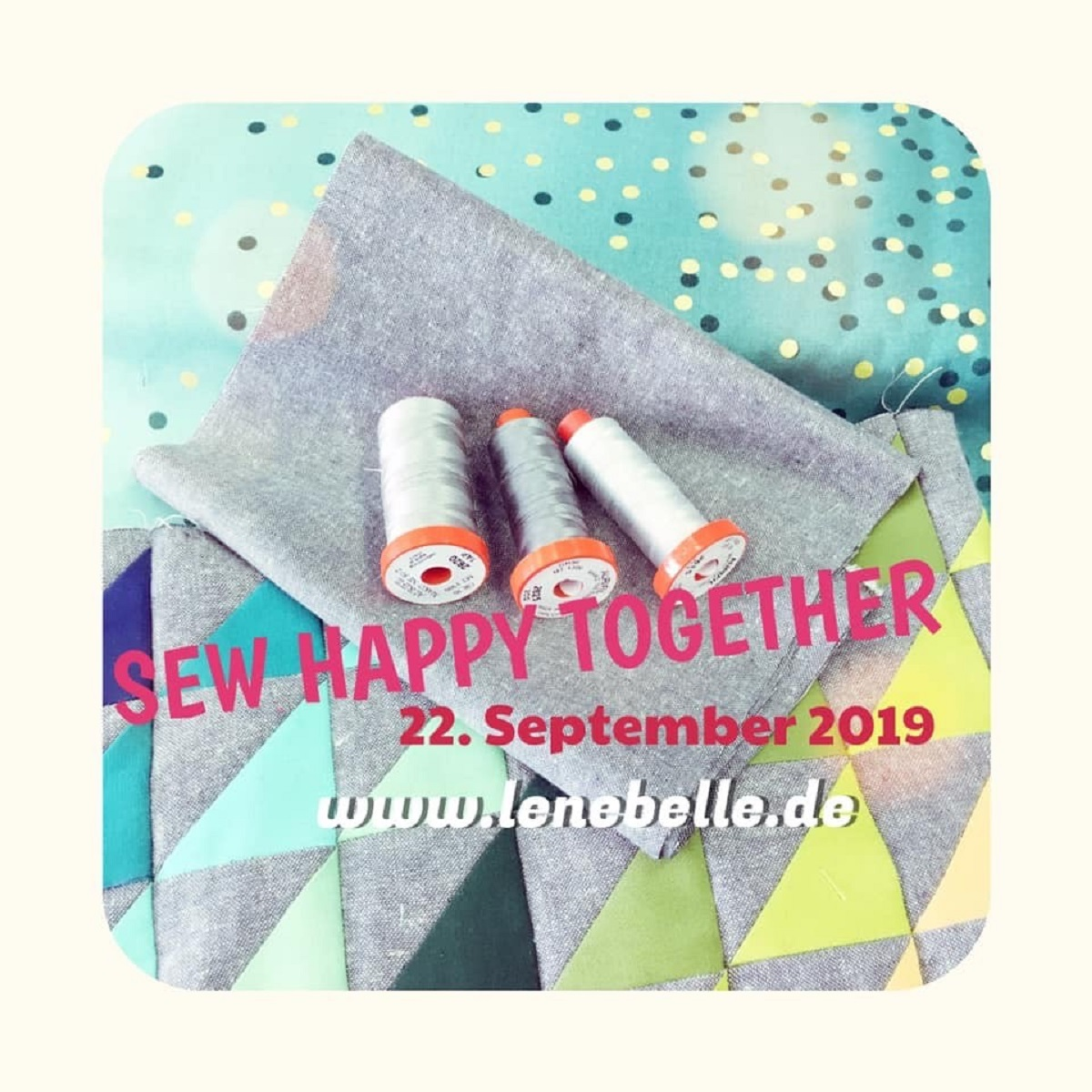 SEW HAPPY TOGETHER - unser Nähevent im September