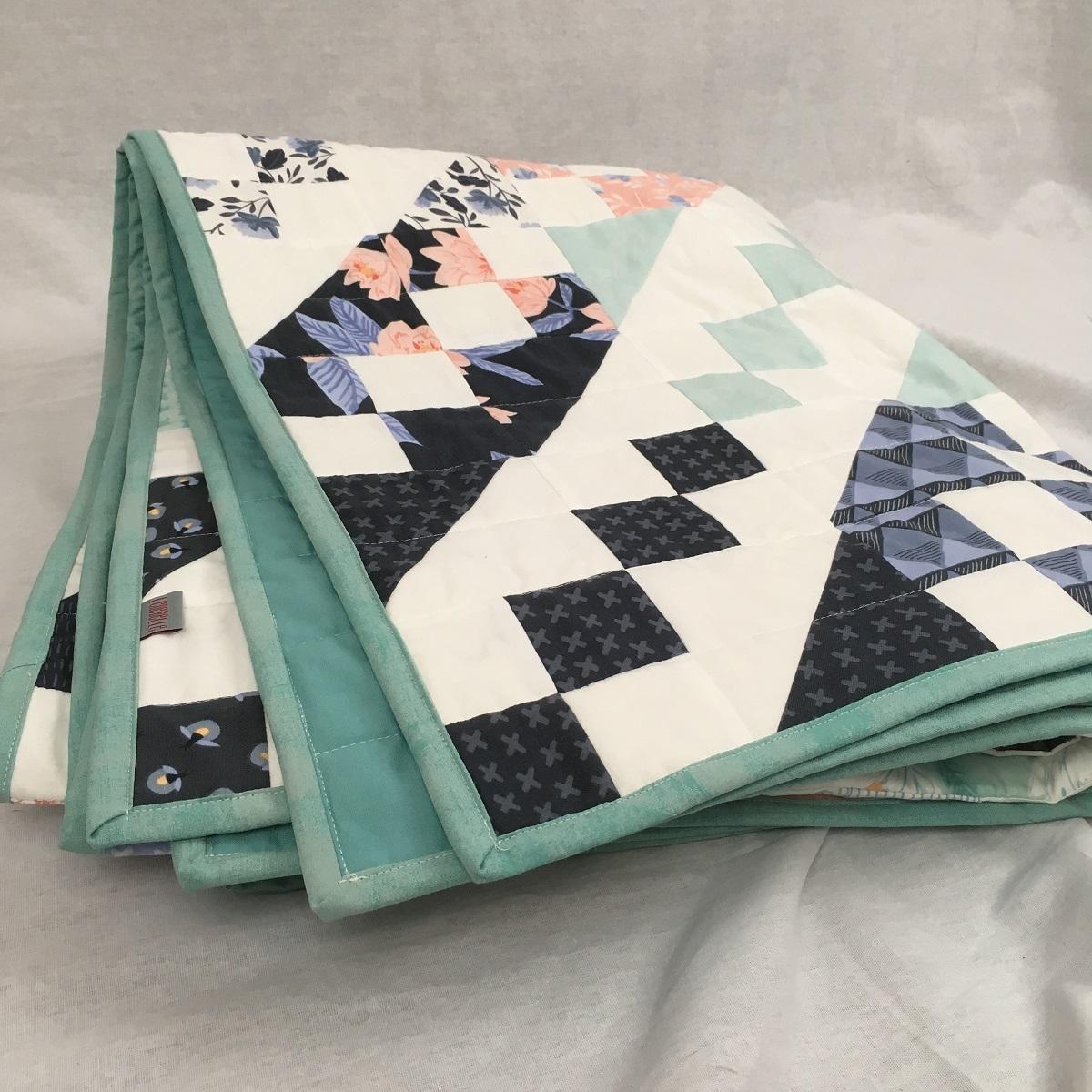 Jane's Ladder Quilt - eine Decke der besonderen Art